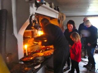 Berit Fransson med familj